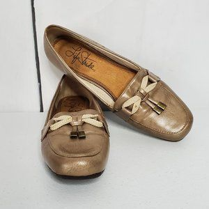 Life Stride Essence Tassel Faux Leather Flats 7.5